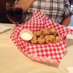 The great catch! Fried mushrooms!!