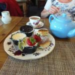 Tea and scone!