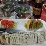 Burro vegetariano - yummy!!