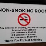 they take smoking very seriously!