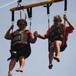 Paradise Parasail on our 51st wedding anniversary