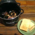 Beer & Bacon Mussles