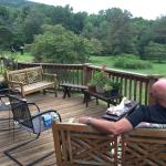 Relaxing deck