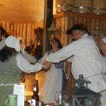 Dancing after diner