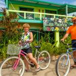 Complimentary bikes are provided to explore & get around Placencia