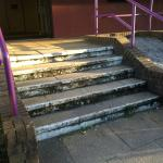 Steps to reception