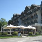 Hotel Jezero with summer terrace