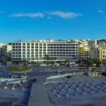 Aerial View of Blue Sky City Beach Hotel