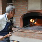 Pizza party - de houtoven