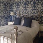 beautiful room with view of garden and south downs