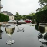 pause Sauvignon en terrasse de l'Hôtel Anne de Bretagne - Blois