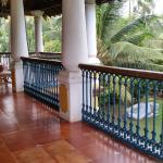Spacious second floor balcony