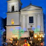 """In pieno centro storico, nella piazza della """"Conciarìa"""" si erge la monumentale chiesa del Corpus"""