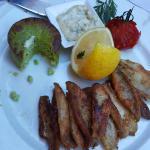 Perches et sauce tartare (menu à 42 euros !!!)