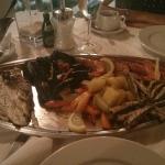 Тарелка с морепродуктами на двоих