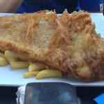 GIANT fish and chips