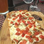 Margarita Flatbread - really good