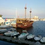 Vu sur la marina du balcon