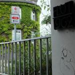 Hinweis Bus 262 Zugang 2