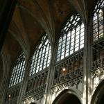 Collégiale Sainte-Waudru - Mons, vue intérieure