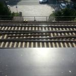 Seriously, folks, the closeness of the tracks just adds to the charm of the place!