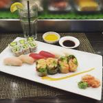 Delicious, fresh sushi with an excellent atmosphere!!!