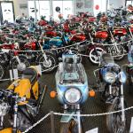 Just some of the bikes on display