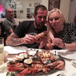 Mixed shellfish platter