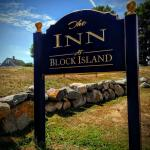 Inn at Block Island sign out front