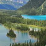 Mary lake and lake O'hara