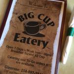 Foto de Big Cup Eatery