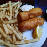 2 pc Halibut Fish and Chips