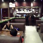 Another view of thecrestaurant's interior