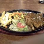 Chicken chop dish