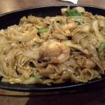 The kwietiaw goreng seafood dish