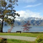 Looking towards Lake Hawea from our camp site