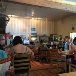 Inside the Coastal Kitchen Cafe