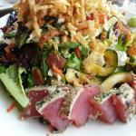 Ahi Tuna Salad Close-up