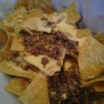 "The ""Taco Bell-like""  beef nachos"