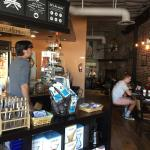 Great atmosphere and delicious coffee
