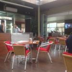 inside the Tosaria Cafe