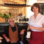 Gigi unser italienischer Koch und Manuela aus Kitzbühel