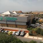 Supermarket from my balcony