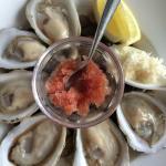 Wonderfully fresh oysters