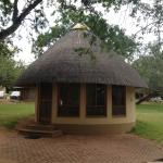 Our bungalow in Skukuza.  It's larger inside than it looks from the photo!