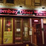 Front of the Bombay Diner