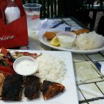 BLACKENED CAJUN CHICKEN & FISH & CHIPS