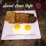 Another scrumptious breakfast from the Sweet Bean.