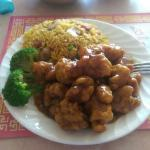 General Tsao chicken