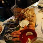 nice seafood board